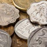 从南非的另外金钱 免版税库存图片