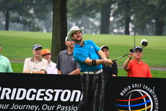 南非的高尔夫球运动员Rory Sabatini 图库摄影