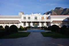 南非的总统的住所在开普敦 免版税库存图片