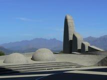 南非荷兰语语言纪念碑, PAARL,南非 库存图片