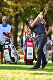南非高尔夫球运动员73高尔夫球意大利人的海顿Porteous打开2016年 库存照片
