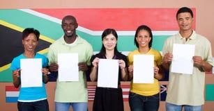 南非洲的人员 库存照片