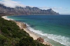 南非洲的海岸线 免版税图库摄影