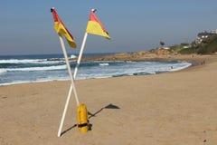南非洲的海滩 库存照片