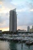 南1个海滩的大厦 免版税库存图片