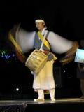 南corean的音乐家 库存图片