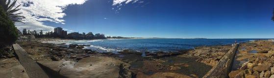 南Cronulla海滩 库存图片