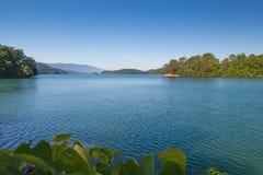 南Holston湖 库存照片