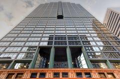 10南LaSalle大厦-芝加哥 图库摄影