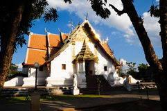 南phumin泰国wat 免版税库存照片