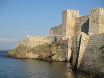 博兹贾岛城堡  免版税库存照片