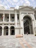 博利瓦厄瓜多尔政府瓜亚基尔宫殿 库存照片