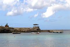 博卡队海滩 免版税图库摄影