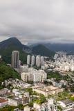 博塔福戈小海湾的看法在里约热内卢 免版税库存照片