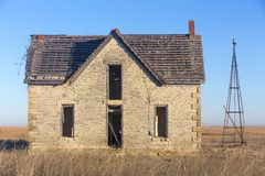 博士被放弃的房子  琼斯 免版税库存图片