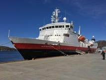 博多港口,挪威 免版税图库摄影