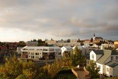 博尔加内斯,冰岛 库存照片