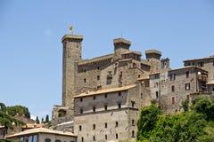 博尔塞纳城堡 免版税库存照片