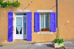 博尼约村庄,普罗旺斯,法国 免版税库存照片