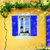 博尼约村庄,普罗旺斯,法国 免版税图库摄影