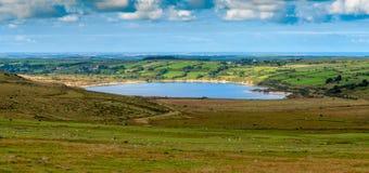 博德明的Stannon湖停泊 免版税库存图片
