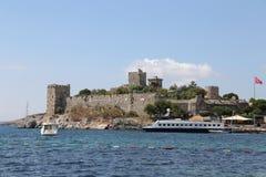 博德鲁姆城堡在土耳其 免版税图库摄影