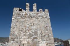 博德鲁姆城堡塔  免版税库存照片