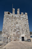 博德鲁姆城堡塔  库存照片