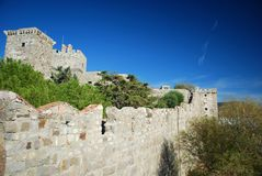 博德鲁姆城堡 库存照片