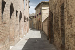 博恩孔文托(托斯卡纳,意大利) 免版税库存图片