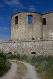 博恩霍尔姆城堡 免版税图库摄影