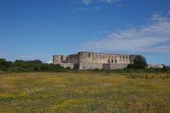 博恩霍尔姆城堡 库存图片