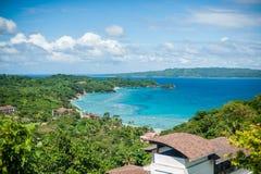 博拉凯海岛的看法  免版税库存图片