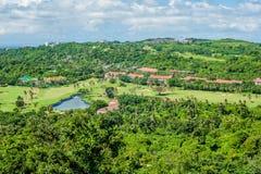 博拉凯海岛的看法  库存图片