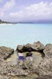 博拉凯海岛,菲律宾 免版税图库摄影