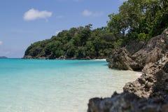 博拉凯海岛 库存照片