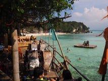 博拉凯海滩菲律宾 库存照片