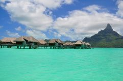 博拉博拉岛 库存照片