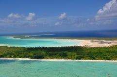 博拉博拉岛 库存图片