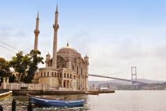 博斯普鲁斯海峡伊斯坦布尔火鸡 库存图片