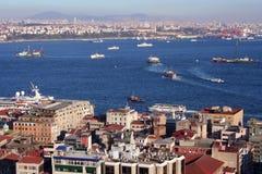 博斯普鲁斯海峡伊斯坦布尔 免版税库存图片