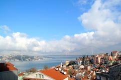 博斯普鲁斯海峡伊斯坦布尔 图库摄影