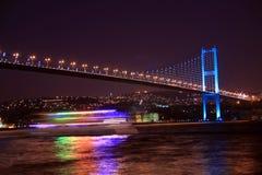 博斯普鲁斯海峡桥梁伊斯坦布尔 库存图片