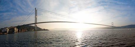 博斯普鲁斯海峡桥梁 图库摄影