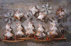 博斯科di biscotti natalizi 免版税库存照片