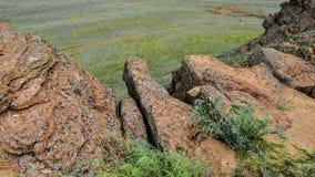 博格多山 阿斯特拉罕,俄罗斯,自然 免版税库存照片