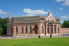 博物馆储备` Tsaritsyno `的,莫斯科,俄罗斯第二骑兵军 库存照片