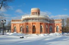 博物馆储备` Tsaritsyno `的建筑学 库存图片