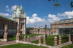 博物馆储备Tsaritsyno在莫斯科,俄罗斯 免版税库存照片