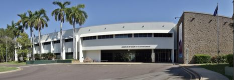 博物馆和北方领土的美术画廊 库存照片